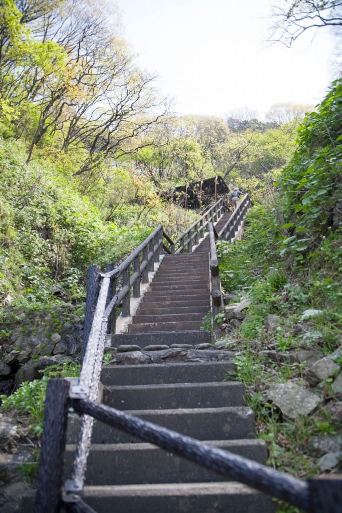 日本海・栂海新道起点の途中