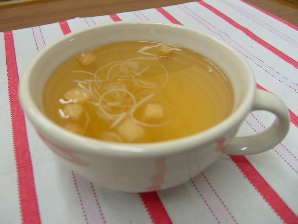 魚醤スープ