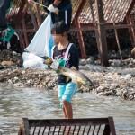 田海川鮭まつり