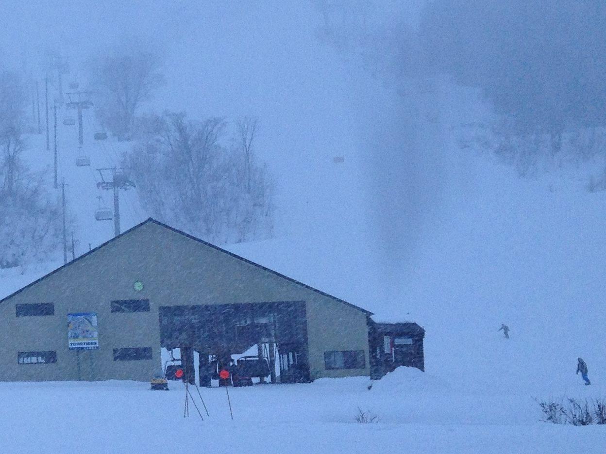 シャルマン火打スキー場の現在の様子