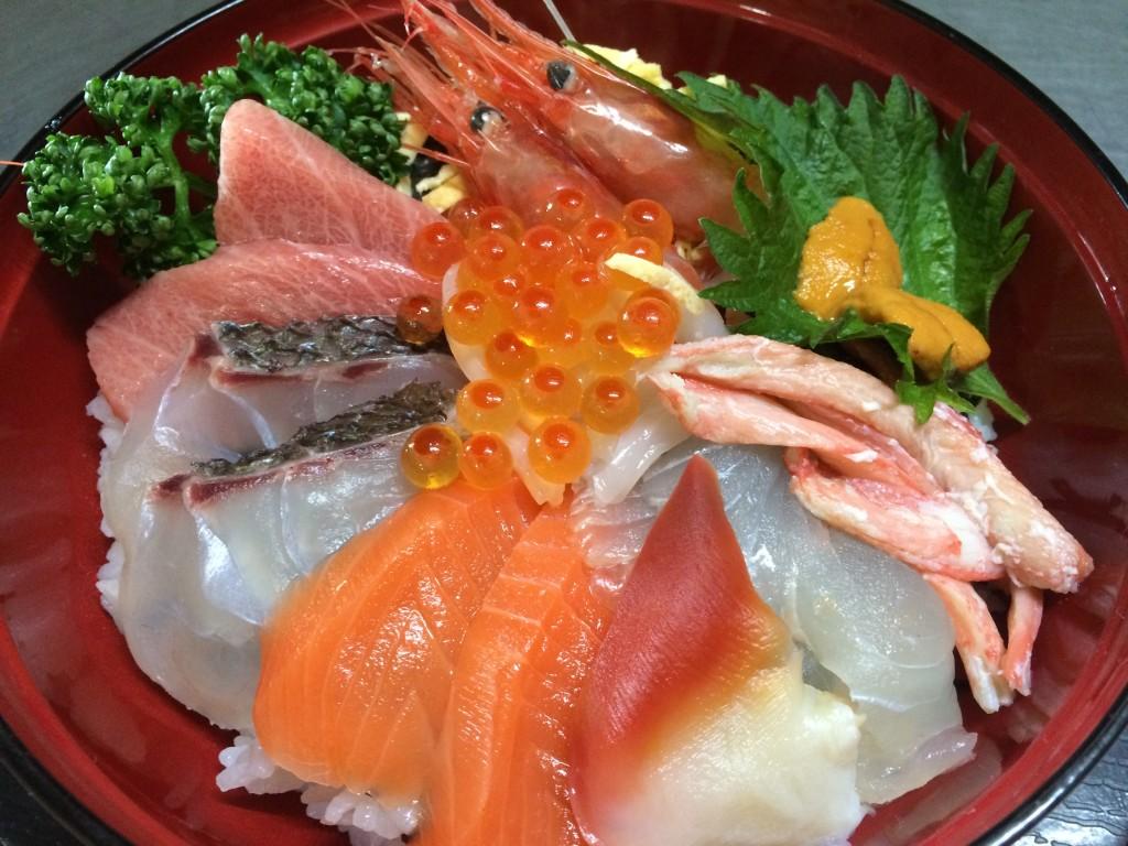 魚屋の海鮮丼 シーサイド磯貝