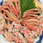 カニ丼 シーサイド磯貝