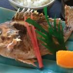 焼魚定食 シーサイド磯貝