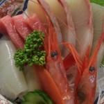 刺身定食 シーサイド磯貝